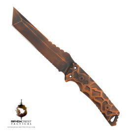 Cerakote Battle Warn Warlord Fixed Blade Knife
