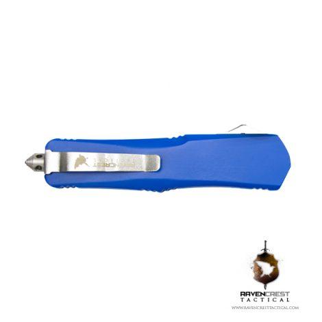 Cerakote NRA Blue Titan Bravo OTF Knife