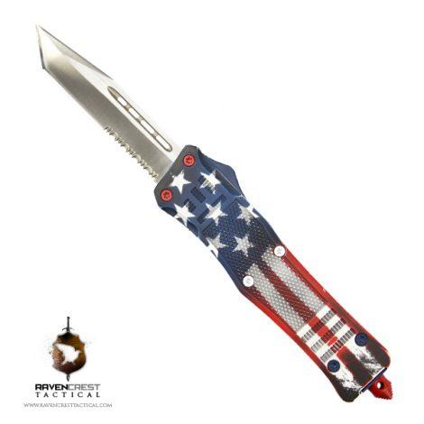 Old Glory RCT-1 Raven OTF Knife