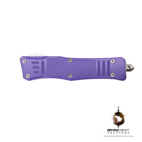 Cerakote Bright Purple RCT-1 Raven OTF Knife