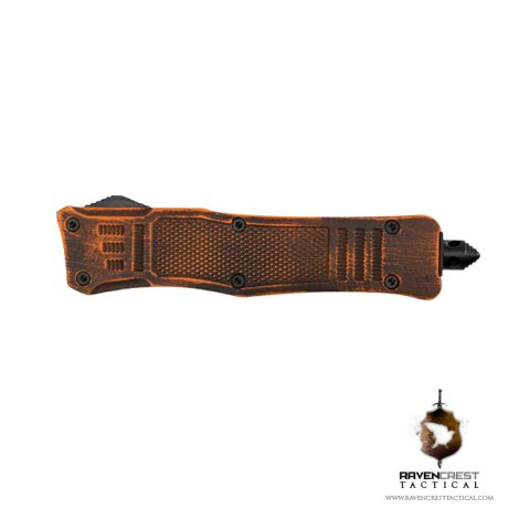 Mini Cerakote Orange and Black Battle Worn