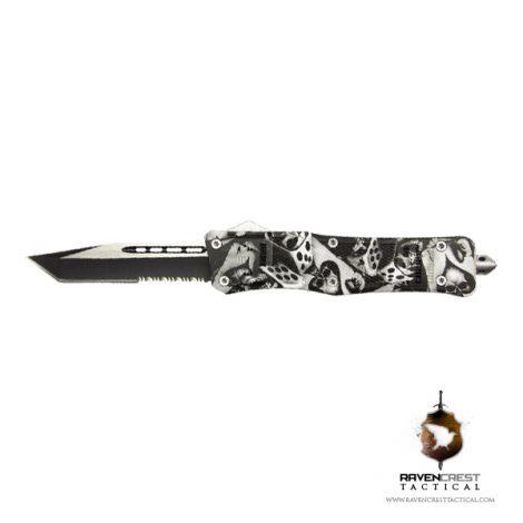 Skull Dice RCT-1 Raven OTF Knife