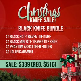 Christmas Sale - Black Knife Bundle
