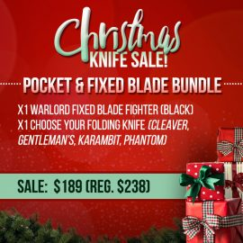 Christmas Sale - Pocket Fixed Blade Bundle