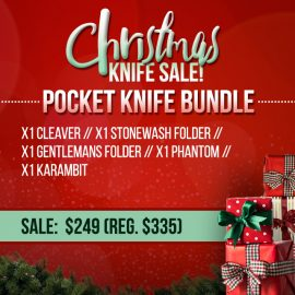 Christmas Sale - Pocket Knife Bundle