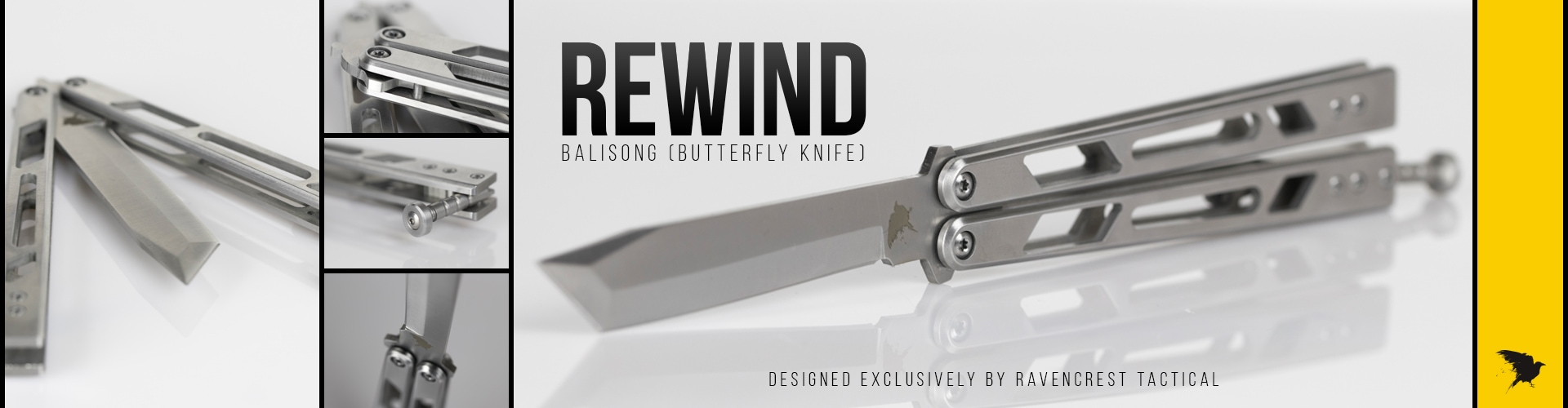 RavenCrest Tactical Rewind Balisong Butterfly Knife