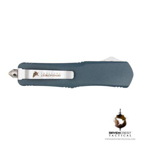 Cerakote Blue Titanium Titan Bravo OTF Knife