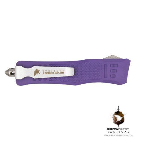 Cerakote Bright Purple Mini RCT-1 Raven OTF Knife