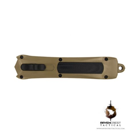 Cerakote Troy Coyote Tan Spartan OTF Knife