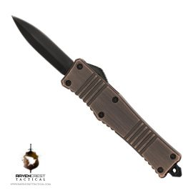 Stinger Micro OTF Knife - Copper