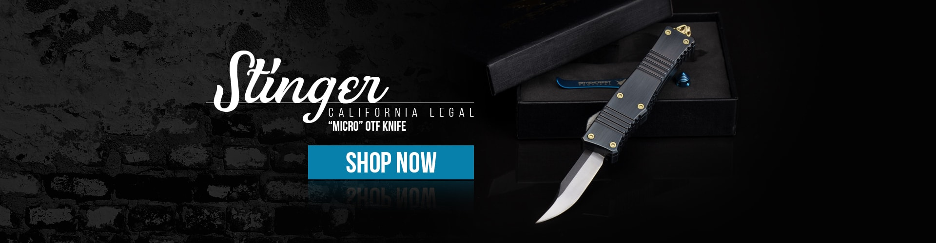 Stinger Micro OTF Knife by RavenCrest Tactical