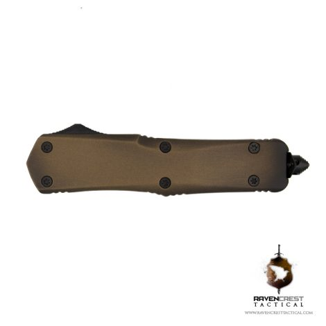 Titan Bravo OTF Knife Battle Worn Bronze & Black