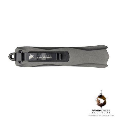 Tungsten Cerakote Spartan OTF Knife