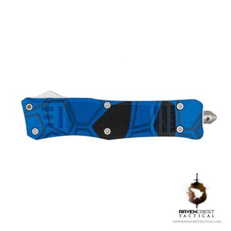 Blue and Black Kryptek RCT-1 Raven OTF Knife