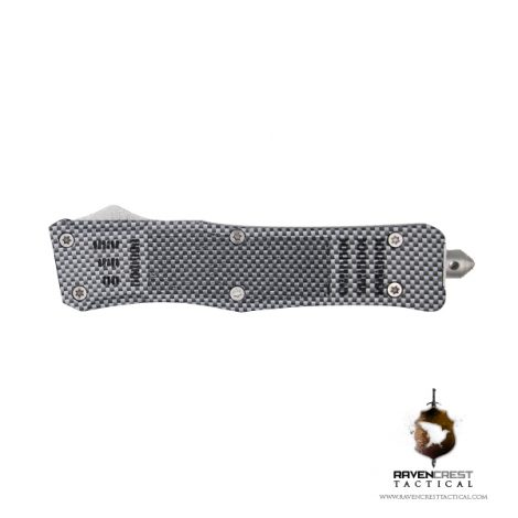Hydroprint Carbon Fiber RCT1 Raven OTF Knife
