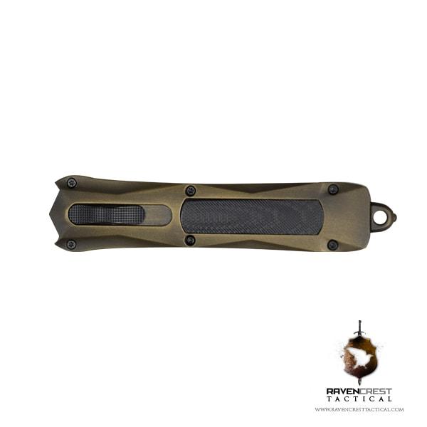 Spartan Bronze Black OTF Knife