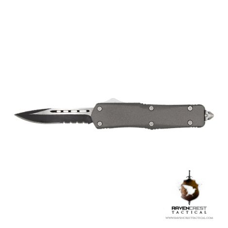 Tungsten Titan Bravo OTF Knife RavenCrest Tactical