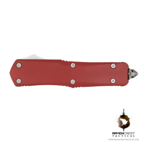 USMC Red Titan OTF Knife RavenCrest Tactical