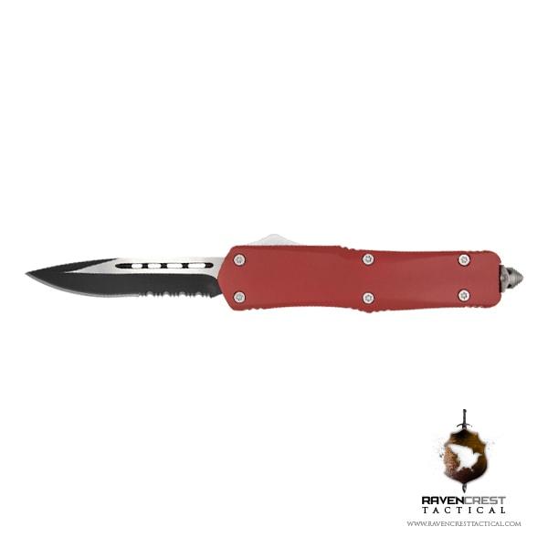 USMC Red Titan OTF Knife RavenCrest Tactical