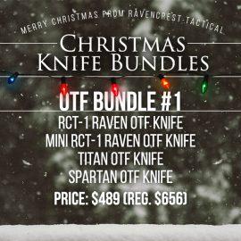 Christmas Knife Sale - OTF Knife Bundle