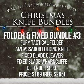 Christmas Knife Sale - Folder & Fixed Bundle