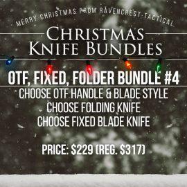 Christmas Knife Sale - OTF, Fixed, Folder Bundle