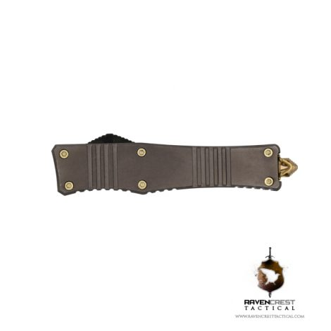 Micro Stinger OTF Knife Bronze - RavenCrest Tactical