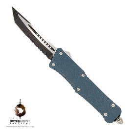 Cerakote Blue Titanium Mini Guardian OTF Knife