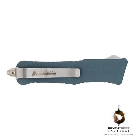 Cerakote Blue Titanium Mini Guardian OTF Knife