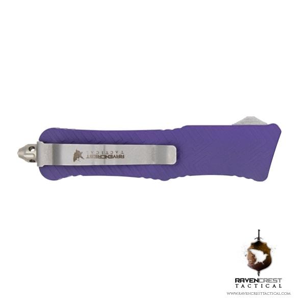 Cerakote Bright Purple Mini Guardian OTF Knife