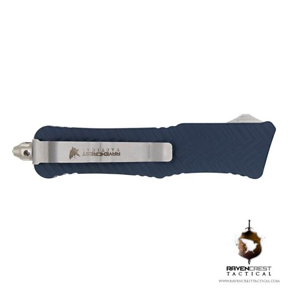 Cerakote Keltec Blue Mini Guardian OTF Knife