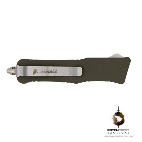 Cerakote OD Green Mini Guardian OTF Knife