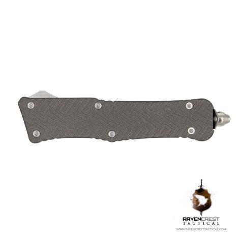 Cerakote Tungsten Mini Guardian OTF Knife