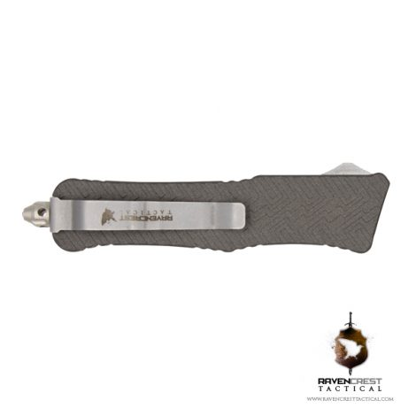 Cerakote Tungsten Mini Guardian OTF Knife