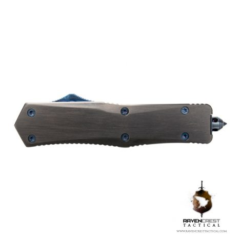 Black & Blue Titan Alpha OTF Knife