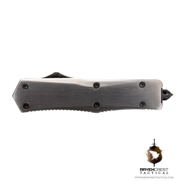 Titanium & Black Titan Alpha OTF Knife