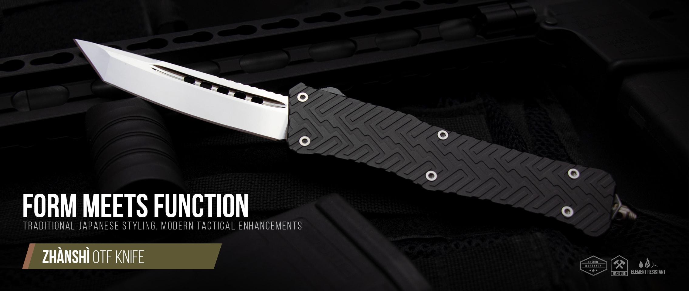 OTF Knife (Zhanshi) - RavenCrest Tactical