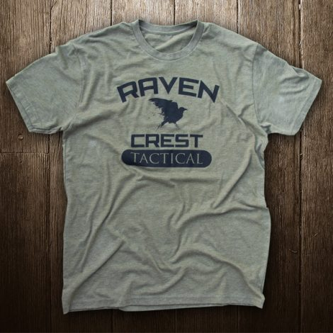 RavenCrest Tactical T-Shirt OD Green & Black