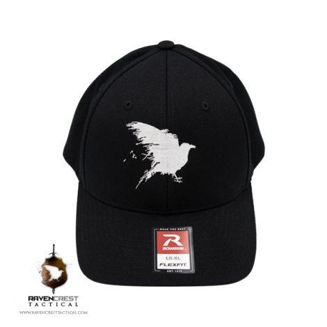RavenCrest Tactical FlexFit Hat Black