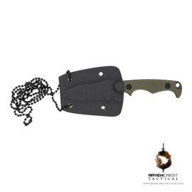 RavenCrest Tactical OD Green Neck Knife