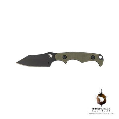 RavenCrest Tactical OD Green Neck Knife