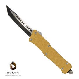 Mini Zhanshi OTF Knife - Gold