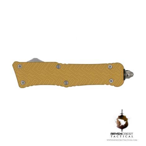 Mini Zhanshi OTF Knife - Gold