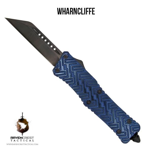 Alloy Zhanshi OTF Knife (Anodized Blue)