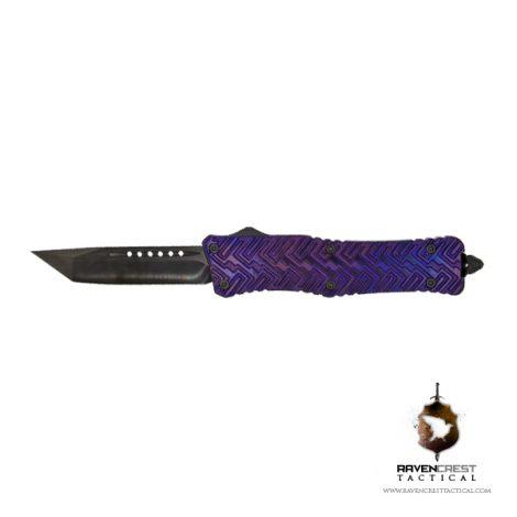 Alloy Zhanshi OTF Knife (Anodized Purple)