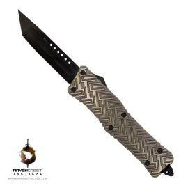 Alloy Zhanshi OTF Knife (Brass)