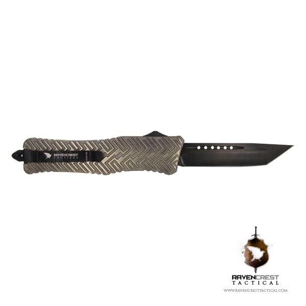 Alloy Zhanshi OTF Knife (Brass)