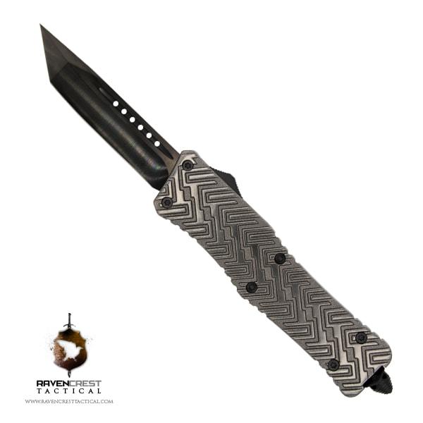 Alloy Zhanshi OTF Knife (Gunmetal)