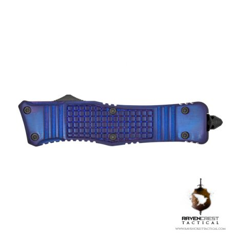 RCT-2 Raven Tactical OTF Knife (Ano Purple)