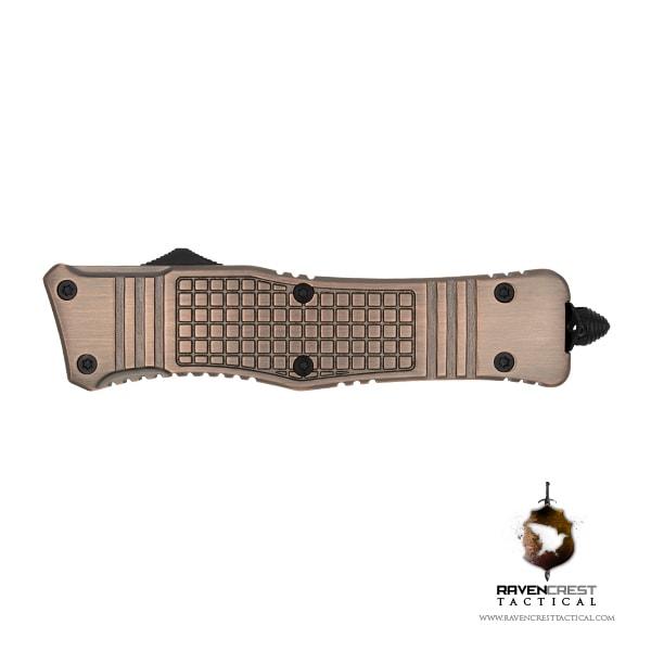 RCT-2 Raven Tactical OTF Knife (Copper)